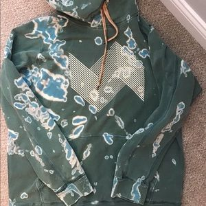 Upcycled one of a kind American Eagle hoodie xl